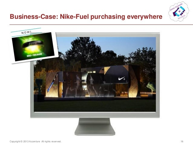 Copyright © 2013 Accenture All rights reserved. 19Business-Case: Nike-Fuel purchasing everywhere