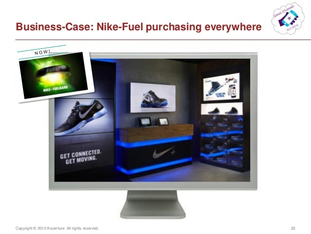 Copyright © 2013 Accenture All rights reserved. 20Business-Case: Nike-Fuel purchasing everywhere