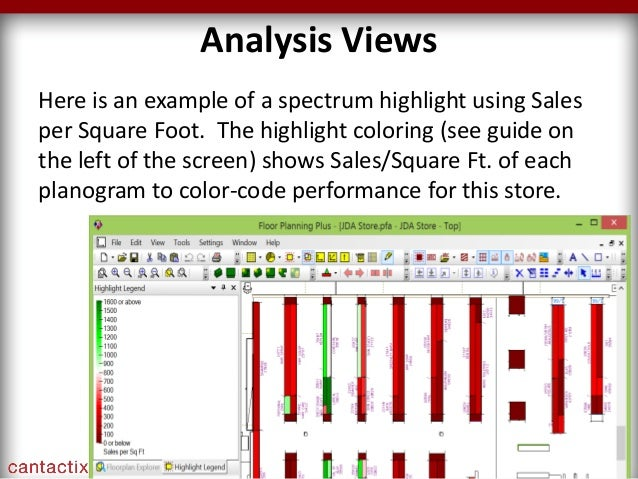 jda floor planning webinar by cantactix every square foot matters