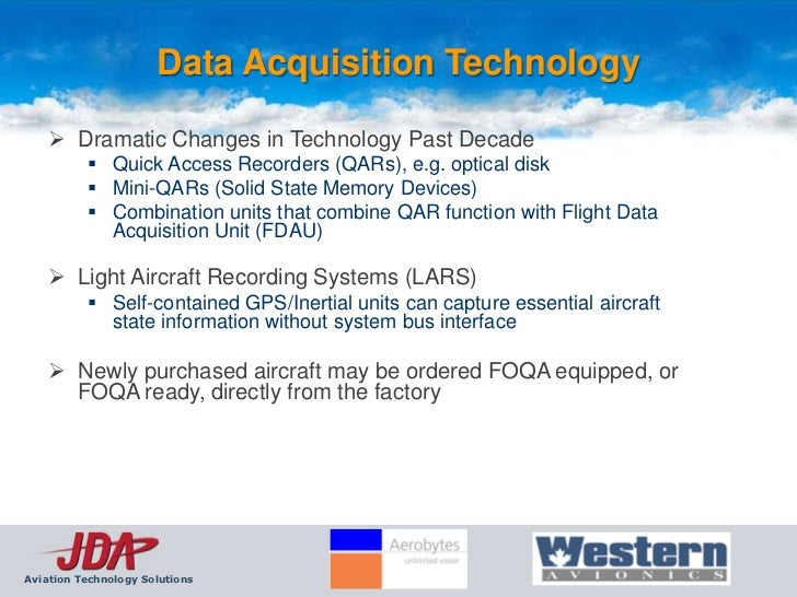 Aerospace Data Acquisition System : Jda foqa briefing slide view