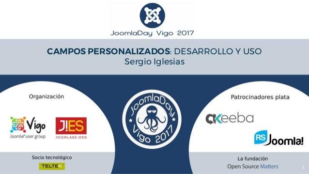 1 CAMPOS PERSONALIZADOS: DESARROLLO Y USO Sergio Iglesias