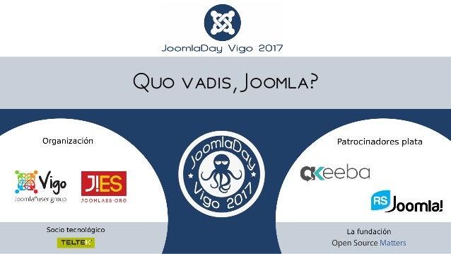 Quo vadis, Joomla?