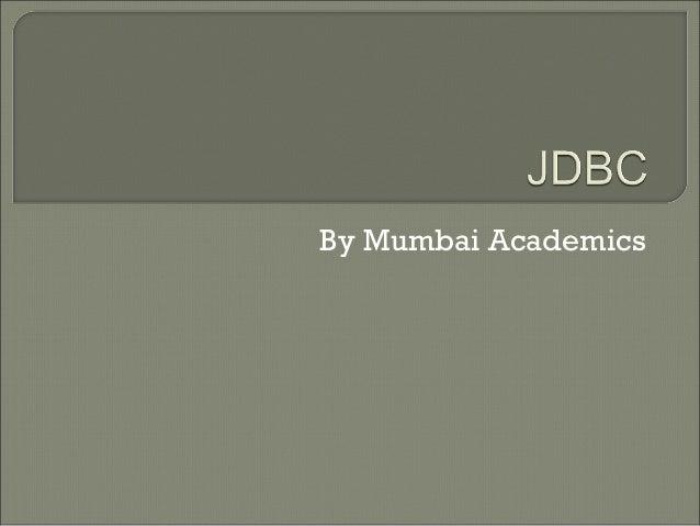 By Mumbai Academics