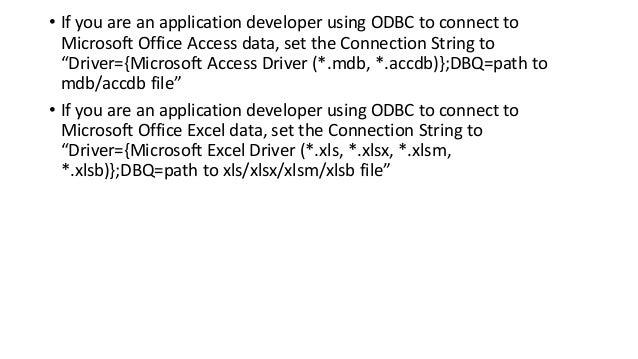 Jdbc odbc 64 bit driver error by tarun bamba