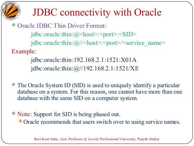 Lesson: JDBC Introduction