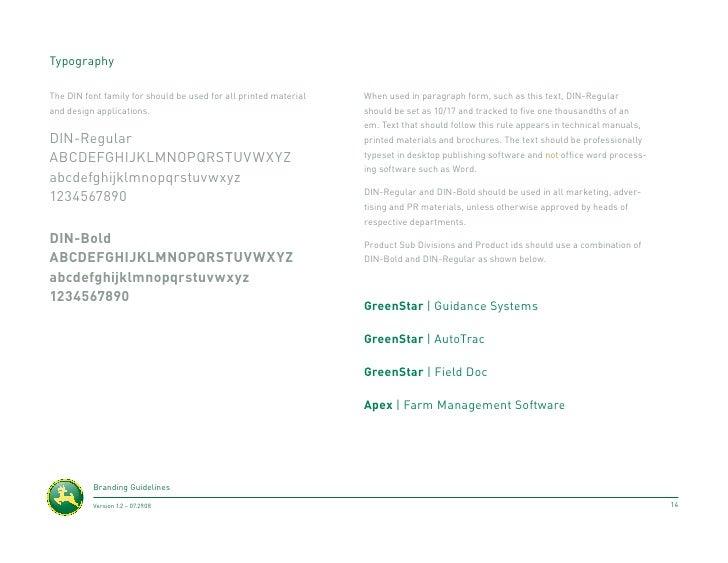 Conceptual John Deere Re-Brand