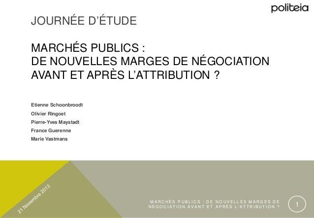 modele lettre negociation marche public