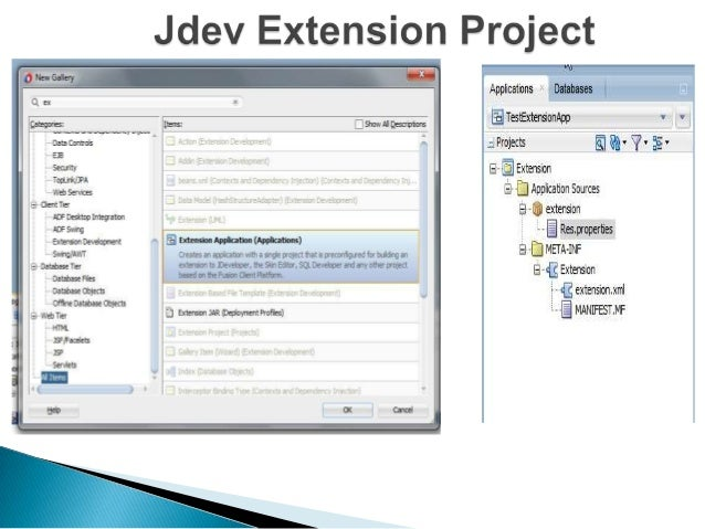 First Deploy To Target Platform  Creates a Jar file of extensions project & use it when running extensions app.  Run Exten...