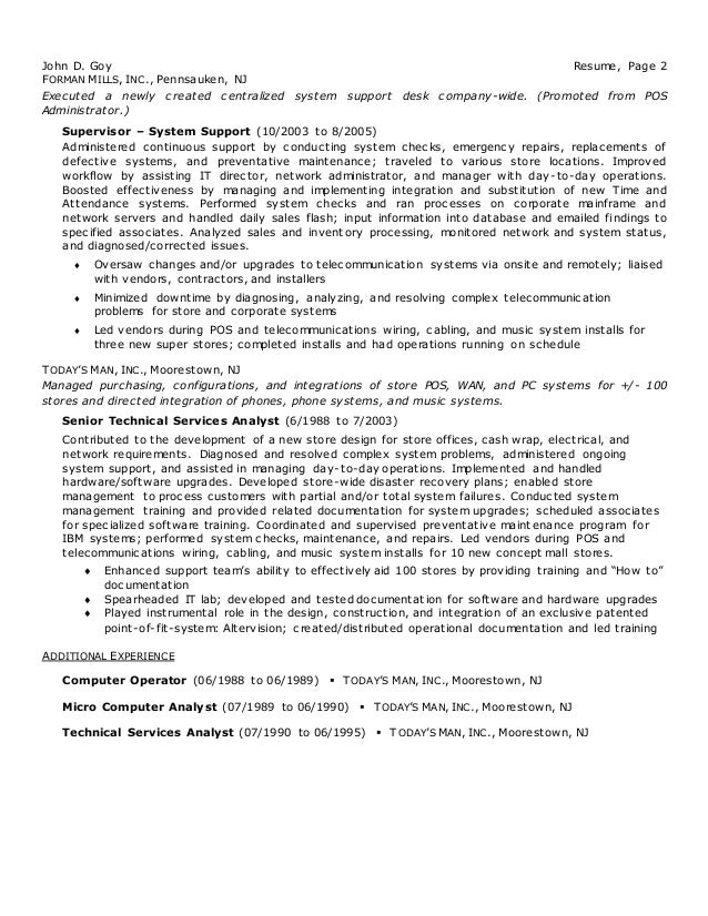SlideShare  Information Technology Manager Resume