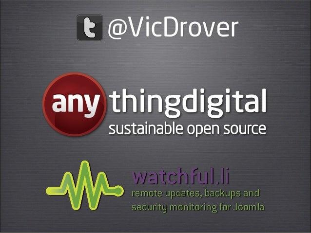 @VicDroverthingdigitalsustainable open source
