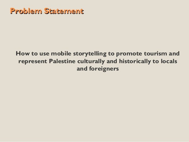 TechCamp Ramallah: How to use mobile storytelling games to promote tourism & cultural awareness in Palestine Slide 2