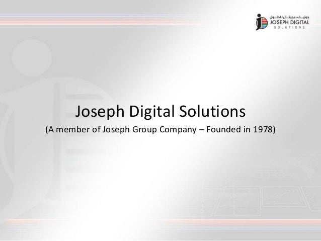 Joseph Digital Solutions - Providing Digital Signage in UAE