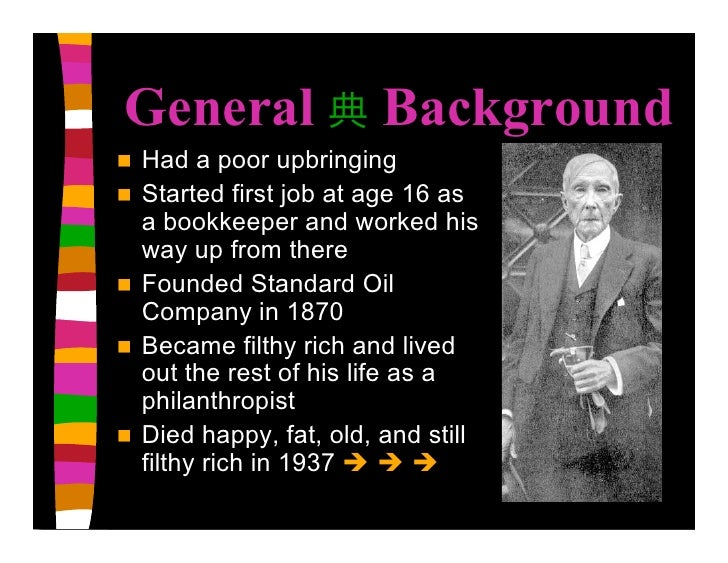 """how poor john d rockefeller became a millionaire John d rockefeller said """"i never would have been able to tithe the these top christian millionaires desire to help christian multi-millionaire."""