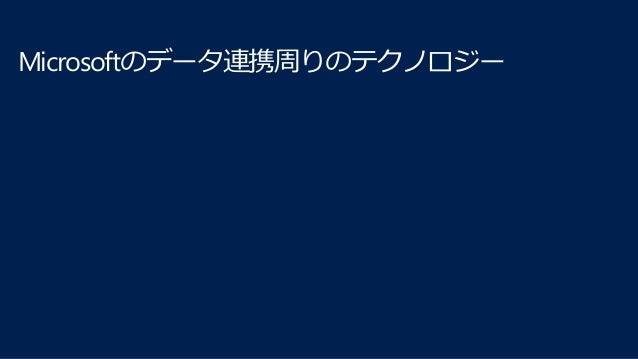 Microsoftのクラウド関連テクノロジー クラウドプラットフォーム Azure ビジネスプラットフォーム Office365 ERP/CRM Dynamics 365 コラボレー ション SharePoint メール Exchan ge ス...