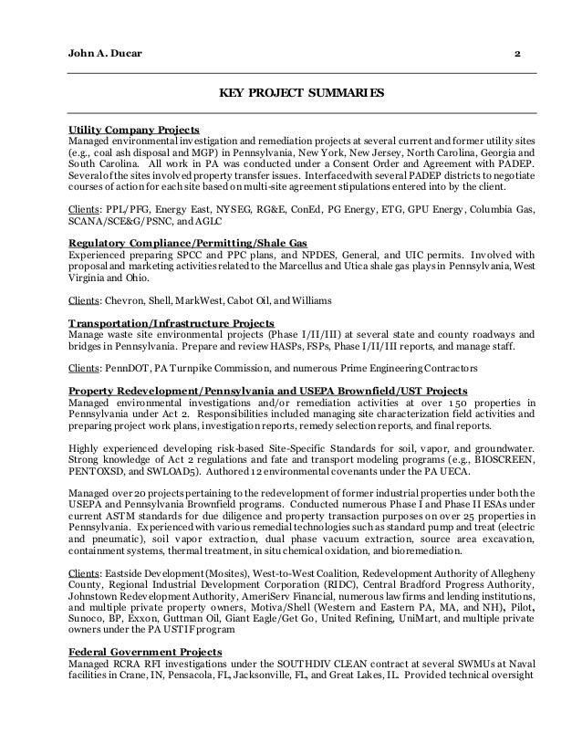 JDucar Resume - June 2015