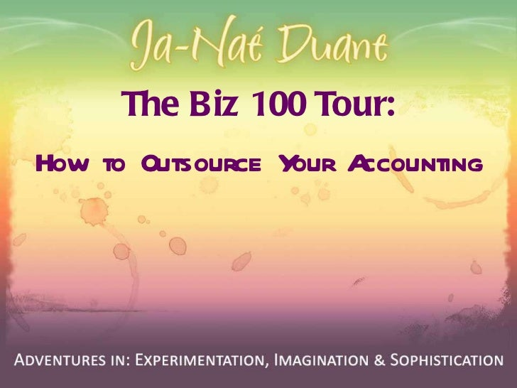 The Biz 100 Tour: How to Outsource Your Accounting