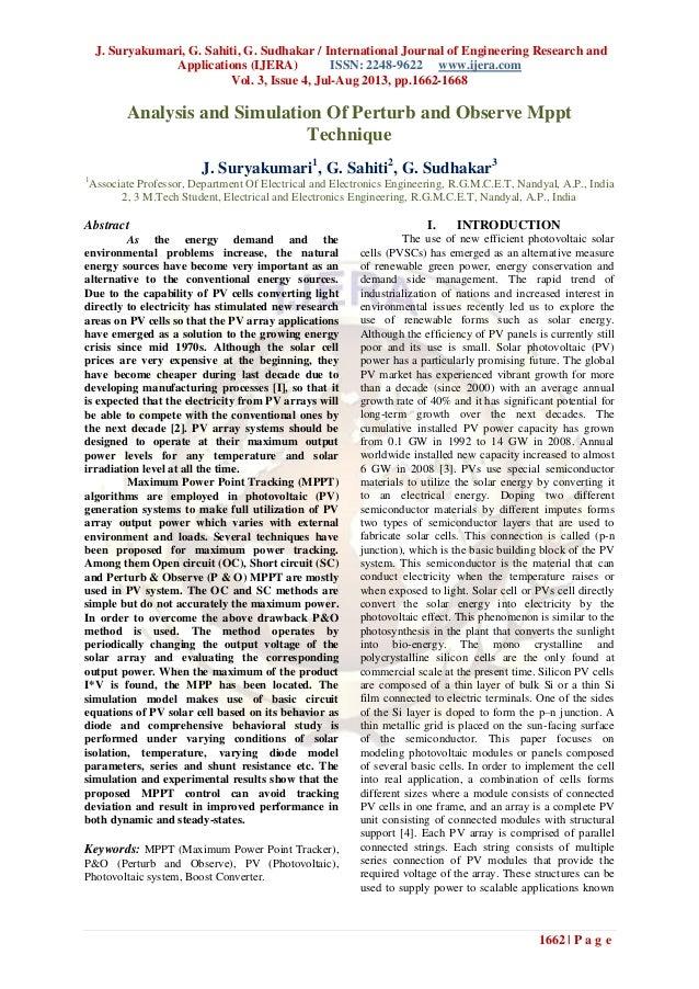 J. Suryakumari, G. Sahiti, G. Sudhakar / International Journal of Engineering Research and Applications (IJERA) ISSN: 2248...