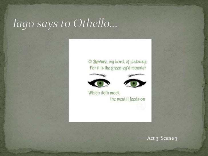 othello jealousy