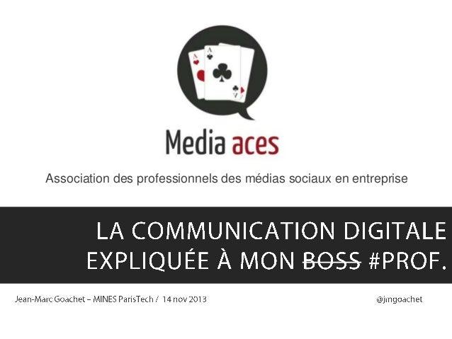 Association des professionnels des médias sociaux en entreprise  1