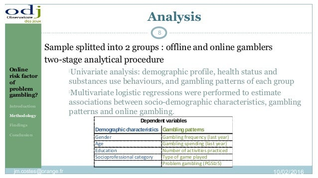Conclusion about gambling analysis non casino hotels las vegas