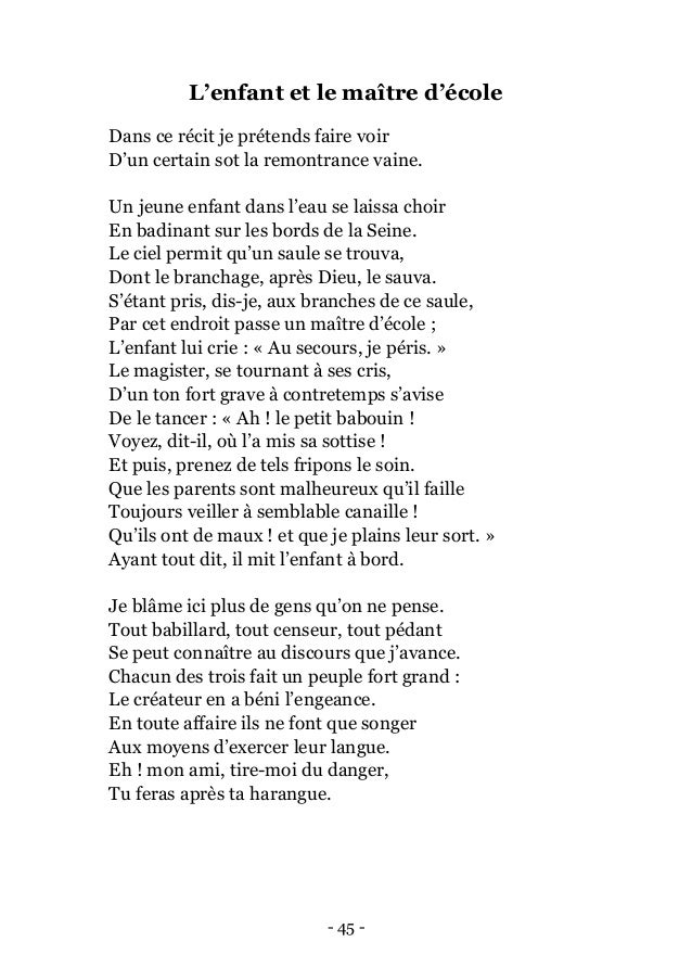 Jean De La Fontaine Fables 1