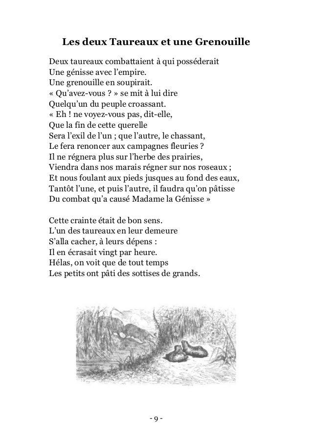 Jean de la fontaine fables 2 - Un mot qui se lit dans les deux sens ...