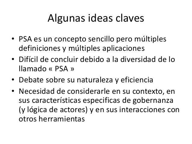 Pago por servicios ambientales: concepto, definiciones, debates y aplicación al caso de PSA Costa Rica Slide 3