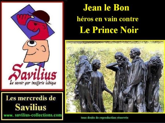 Jean le Bon contre le Prince Noir