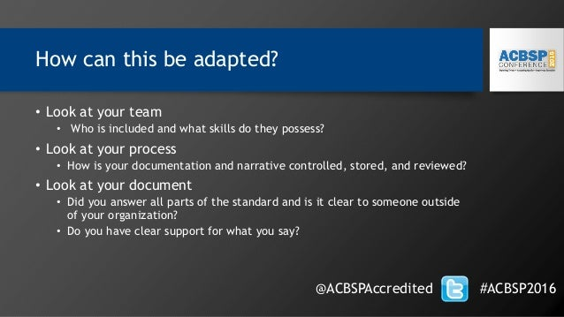 How can this be adapted? • Look at your team • Who is included and what skills do they possess? • Look at your process • H...