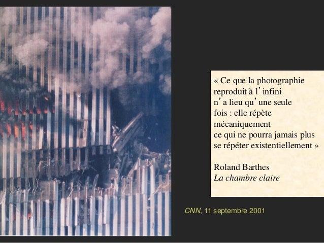 La contribution des sciences de l information et de la communication - Barthes la chambre claire ...