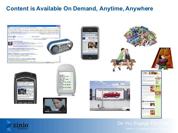 Content is Available On Demand, Anytime, Anywhere