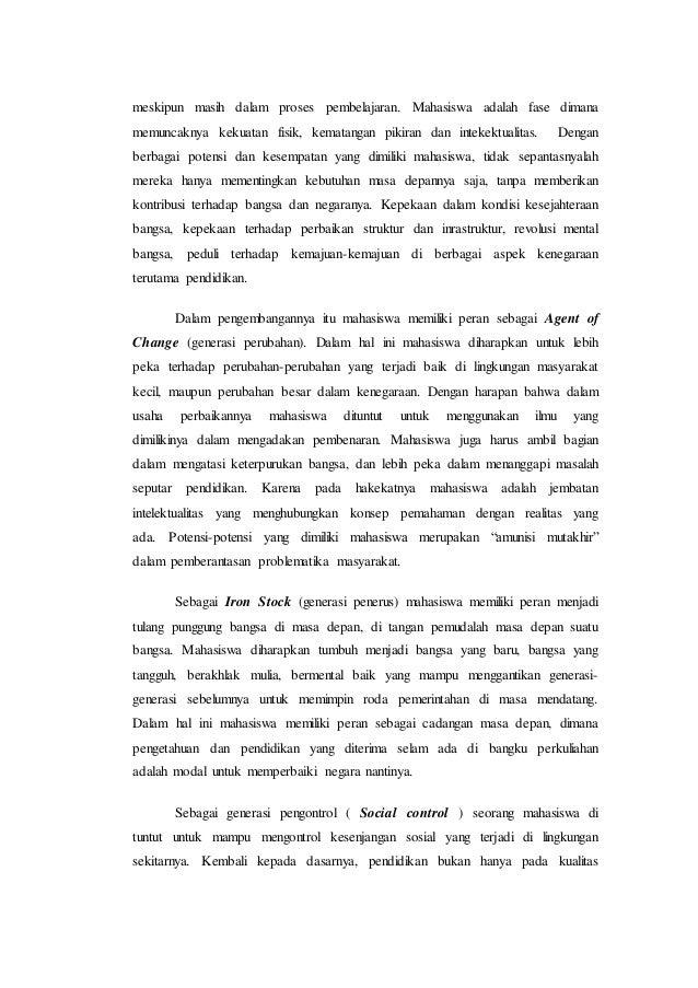 contoh essay aku dan bangsaku ub