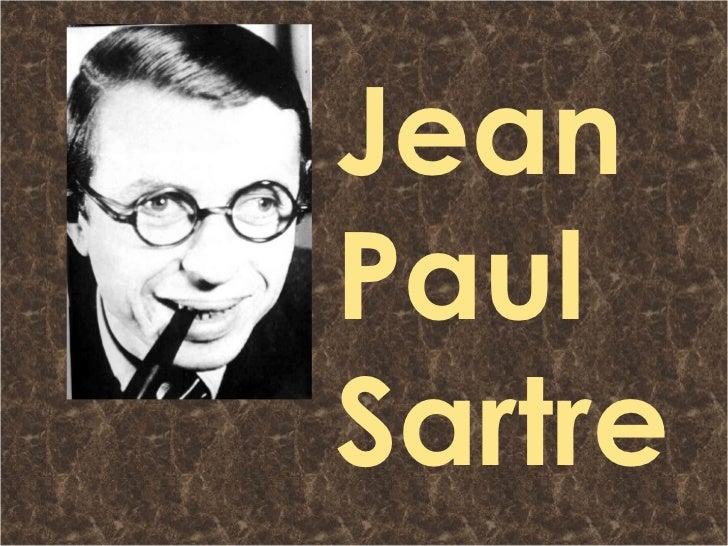 Sartre Y El Existencialismo Ateo