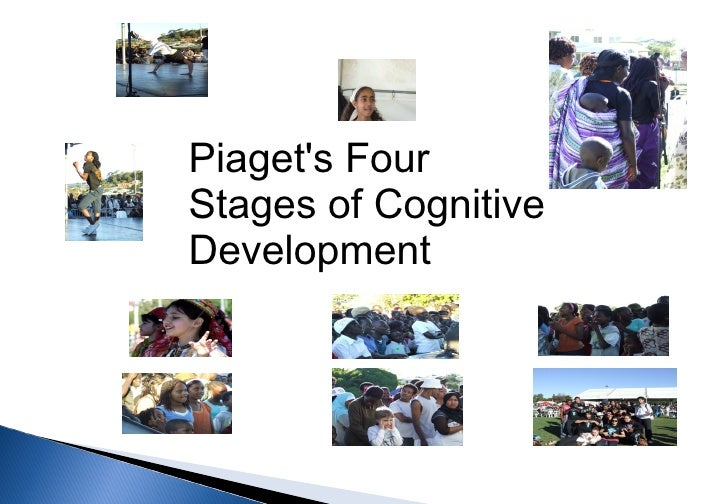Piagets FourStages of CognitiveDevelopment