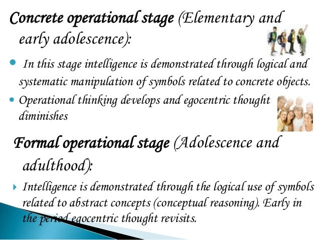 formal operational stage quizlet