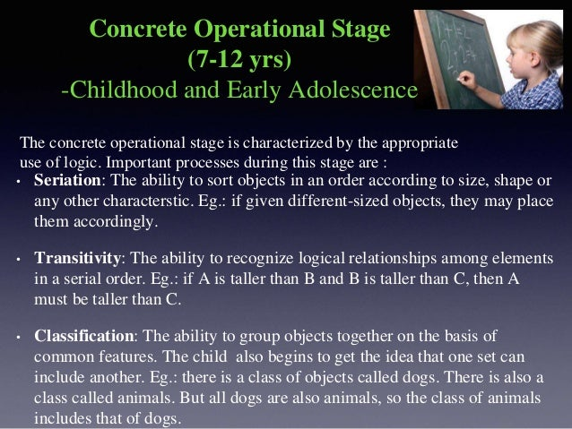 • Decentring: The ability to take multiple adpects of a situation into account. Eg.: the child will no longer perceive an ...