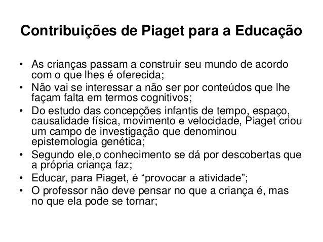 Suficiente 1 - Jean Piaget - Histórias e suas Teorias PJ97