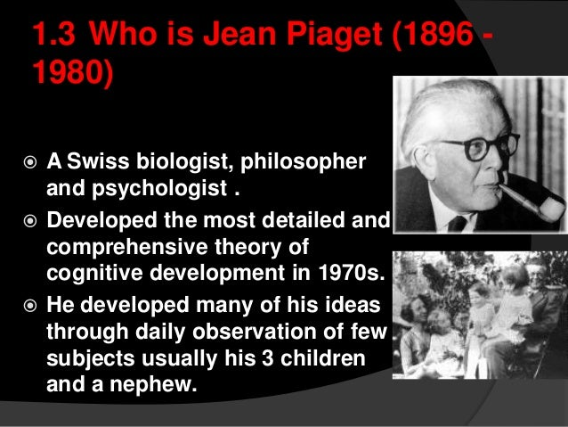jean piaget stages of development pdf