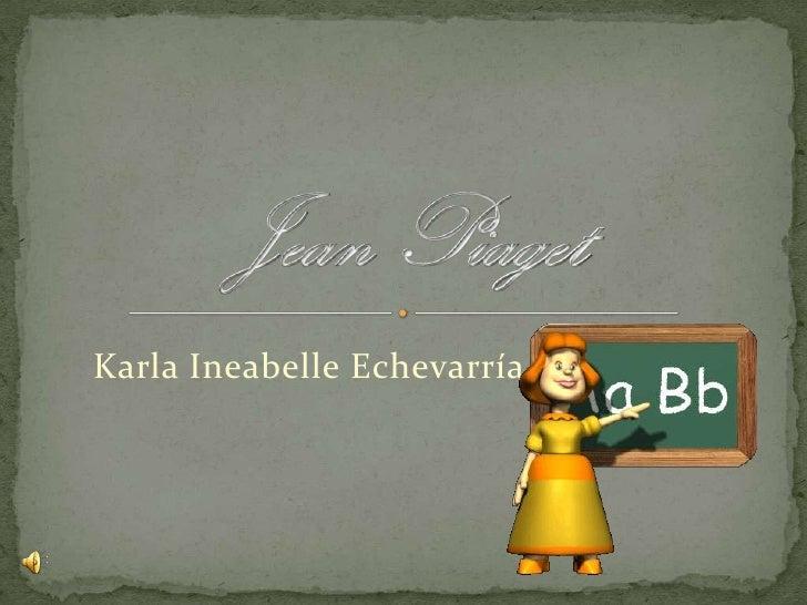 Karla Ineabelle Echevarría