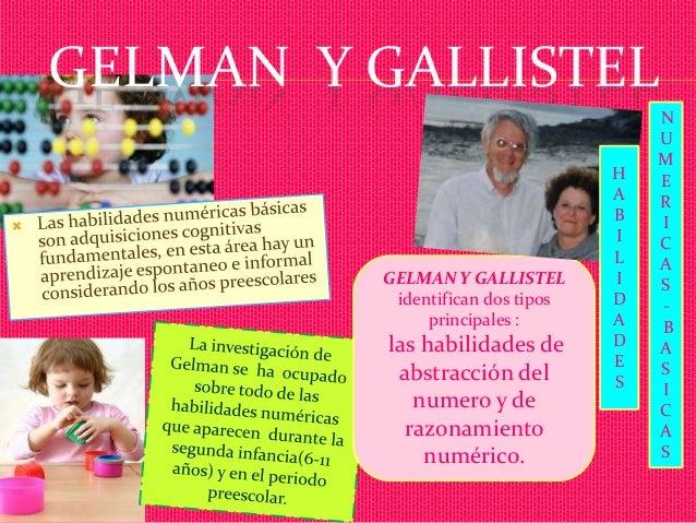 Resultado de imagen para Gelman y Gallistel