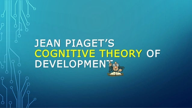 jean piaget theory of cognitive development pdf