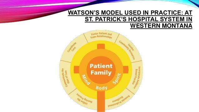 Jean Watson Theory Of Human Care
