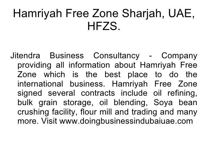 Ajman Free Zone, SAIF Zone Sharjah