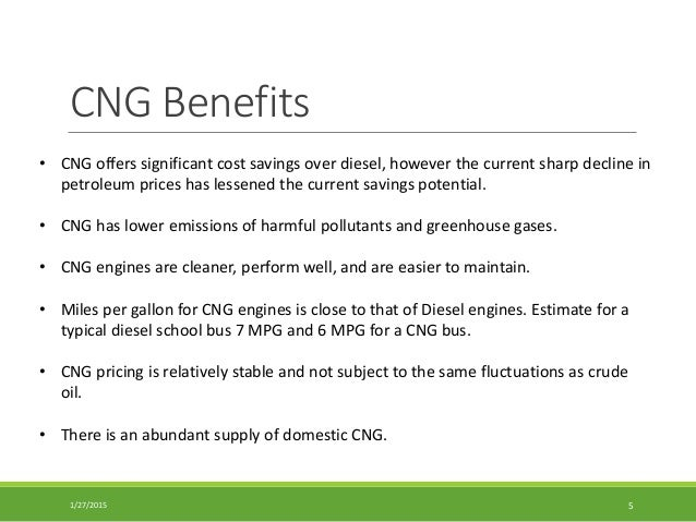 benefits of cng