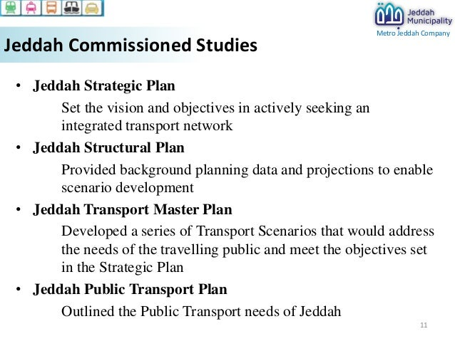 Jeddah Master Transportation Plan
