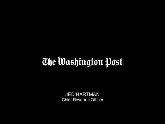 JED HARTMAN Chief Revenue Officer