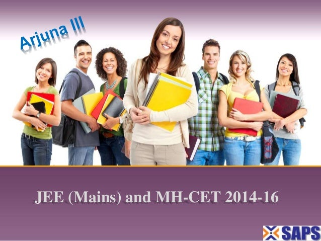 JEE (Mains) and MH-CET 2014-16