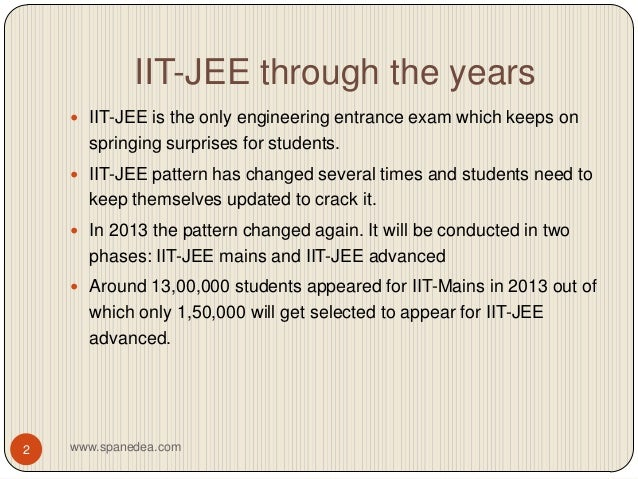 Iit jee preparation parents guide spanedea.