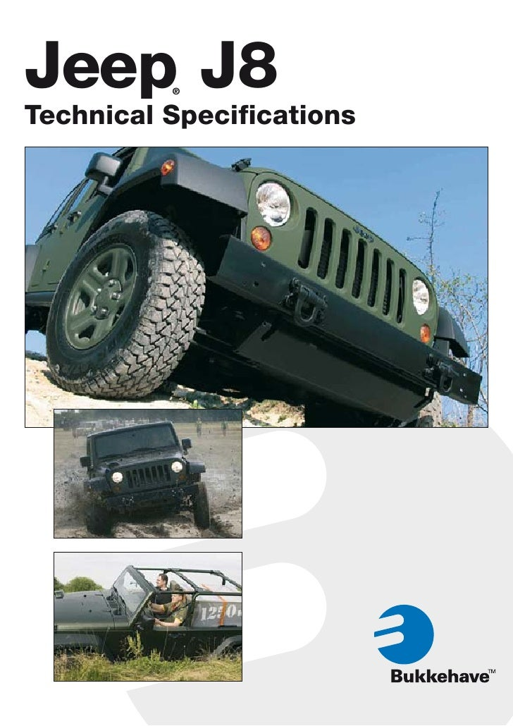 ... Ancira Chrysler Jeep Dodge. Jeep J8 ® Technical Specifications ...