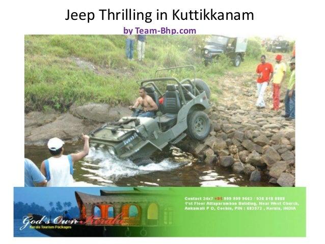 Jeep Thrilling in Kuttikkanam by Team-Bhp.com